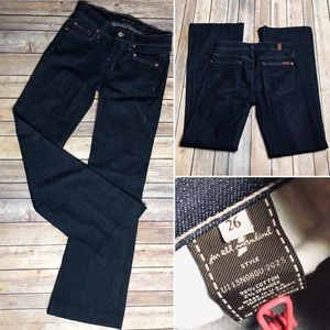 7 FAM Dojo Jeans Dark Wash 26 For All Mankind